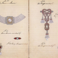 The Jewellery Sketches of the Grand Duchess of Russia