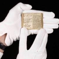 Jottings: Charlotte Brontë's miniature manuscript