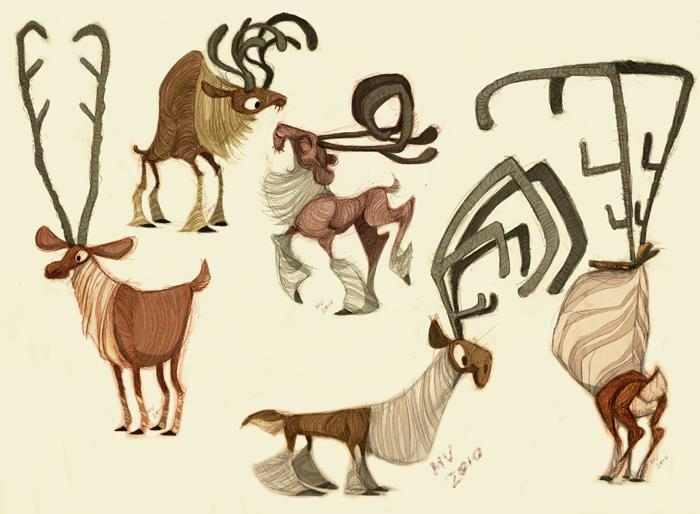 Cartoon Animal Character Design : Animation sketches jottings