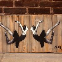 Sketchbook Style Street Art